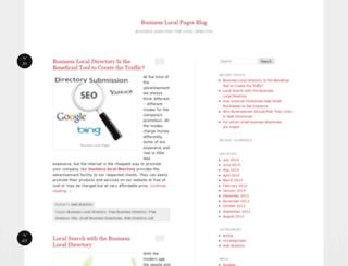 businesslocalpagesblog.wordpress.com screenshot