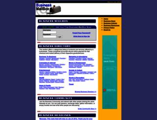 businessmailbox.com screenshot