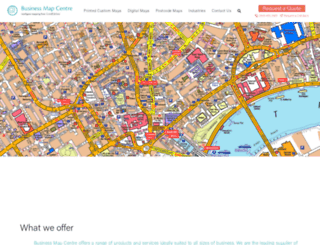 businessmapcentre.com screenshot