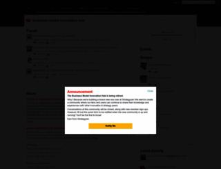 businessmodelhub.com screenshot