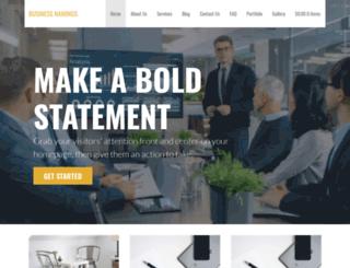 businessnamings.com screenshot