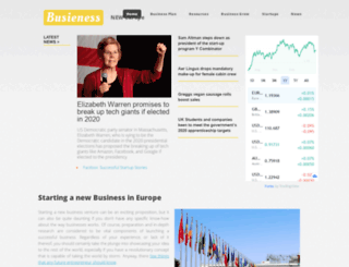 businessneweurope.eu screenshot