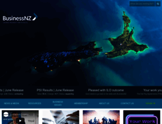 businessnz.org.nz screenshot
