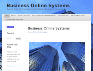 businessonlinesystems.net screenshot