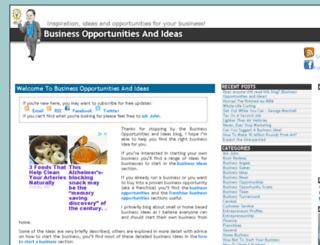 businessopportunitiesandideas.com screenshot