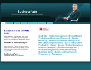 businesspate.de screenshot