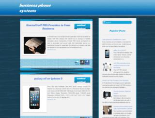 businessphonesystemss.blogspot.com screenshot