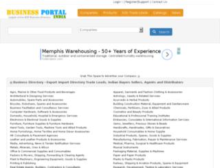 businessportalindia.com screenshot