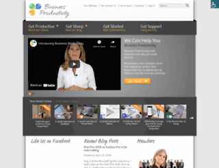 businessproductivity.com screenshot