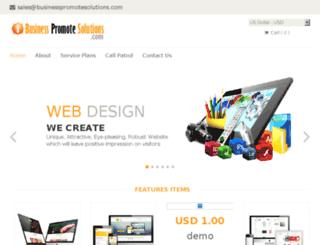 businesspromotesolutions.com screenshot