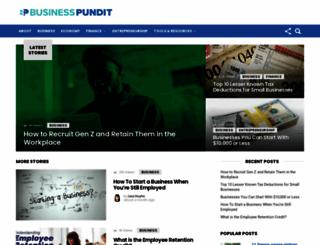 businesspundit.com screenshot