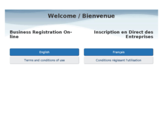 businessregistration.gc.ca screenshot