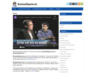 businessreporter.net screenshot