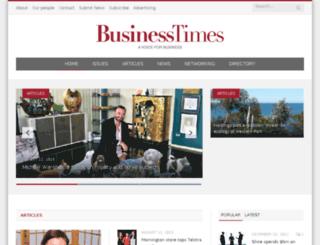 businesstimes.net.au screenshot