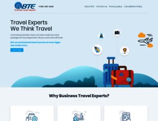 businesstravelexperts.us screenshot