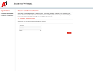 businesswebmail.telekom.at screenshot
