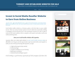 businesswebsitesforsale.wordpress.com screenshot