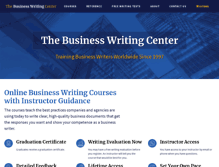 businesswriting.com screenshot