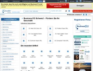 businessyo.ch screenshot