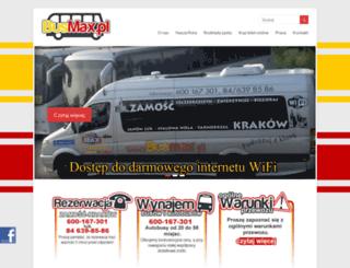 busmax.pl screenshot
