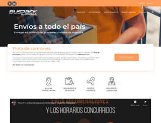 buspack.com.ar screenshot