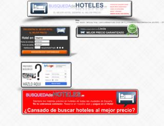 busquedadehoteles.es screenshot