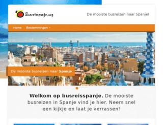 busreisspanje.org screenshot