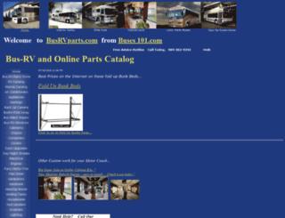 busrvparts.com screenshot