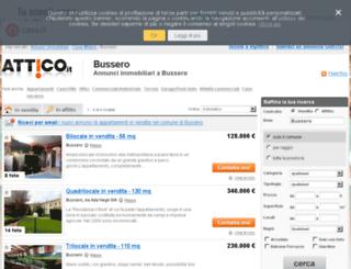 bussero.attico.it screenshot