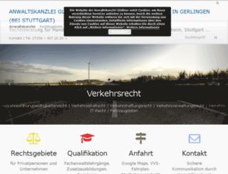 bussgeldrechner.biz screenshot