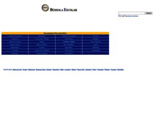 bussolaescolar.com.br screenshot