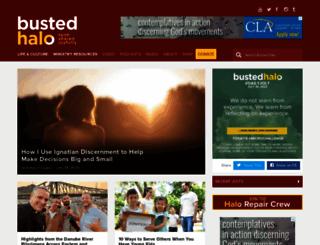 bustedhalo.com screenshot