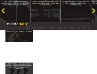 bustledaily.com screenshot