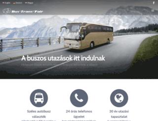bustransfair.hu screenshot
