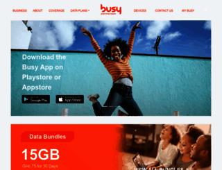 busy.com.gh screenshot