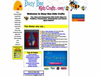 busybeekidscrafts.com screenshot