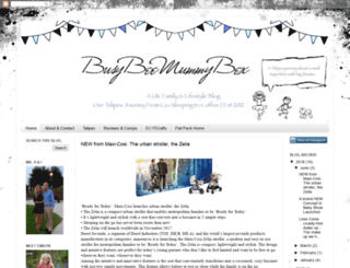 busybeemummybex.blogspot.co.uk screenshot