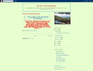 busyboomers.blogspot.com screenshot