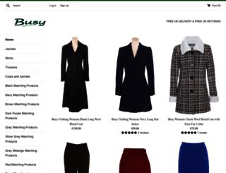 busyclothing.co.uk screenshot