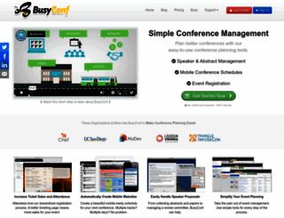 busyconf.com screenshot