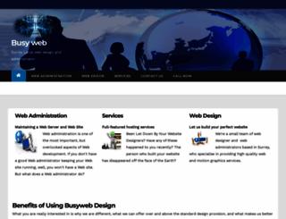 busyweb.org screenshot