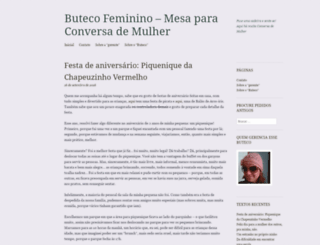 butecofeminino.wordpress.com screenshot
