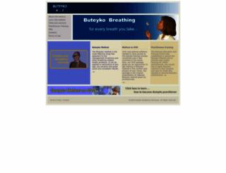 buteyko.com screenshot
