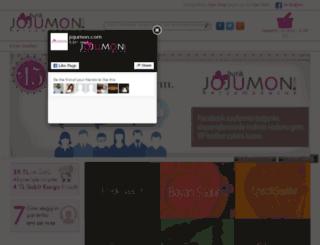 butik.jojumon.com screenshot