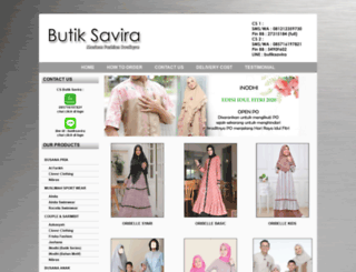 butiksavira.com screenshot