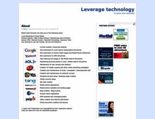 butlerdataservices.com screenshot