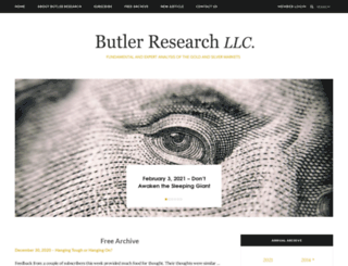 butlerresearch.com screenshot