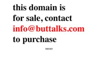 buttalks.com screenshot