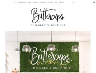 buttercups.ca screenshot