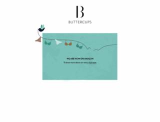 buttercups.in screenshot